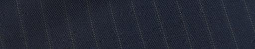 【Me_0w35】ネイビー柄+9ミリ巾織りストライプ
