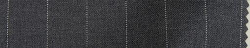 【Mp_0w17】ミディアムグレー+1.8cm巾ストライプ