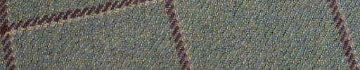 【Ph_oh26】ライトグリーンイエロー+6.5×5.5cmエンジ・ライトピンクチェック