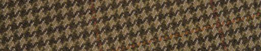 【Ph_oh28】ブラウンミックスガンクラブチェック+7.5×6cmライトブラウンペーン