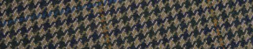 【Ph_oh29】ベージュ+ネイビー×グリーンガンクラブチェック+7.5×6cmブルー・ブラウンペーン