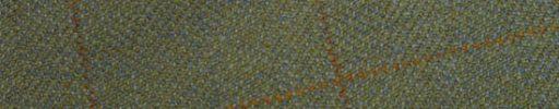 【Ph_oh44】グリーンイエロー+6.5×5.5cmブラウン・ライトブラウンプレイド