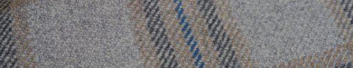 【Ph_oh49】ライトグレー+8.5×6.5cmブラウン・ダークグレー・ブルーチェック