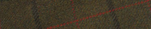 【Ph_oh52】ダークブラウン+7×6cmブラウン・グリーン・ダークオレンジチェック