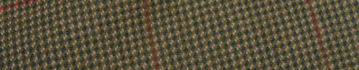 【Ph_oh56】ブラウン×グリーンミックスファンシーパターン+7×6cmブラウン・ピンクチェック