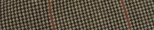 【Ph_oh57】ベージュ×ダークグレーミックスファンシーパターン+7×6cmブラウン・ピンクチェック