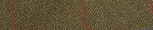 【Ph_oh58】ライトブラウン+6×5.5cmブルー・赤チェック