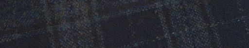 【Sj_0w27】ブルーグレー×ネイビー6×5.5cmチェック