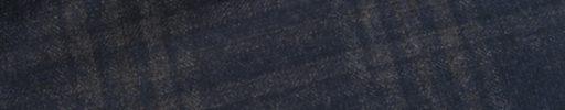 【Sj_0w41】ネイビー+6.5×6cmグレーチェック