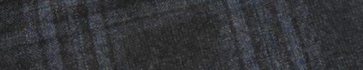【Sj_0w42】チャコールグレー+6.5×6cmライトブルーチェック