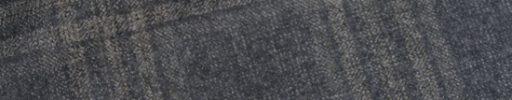 【Sj_0w43】ミディアムグレー+6.5×6cmオフホワイトチェック