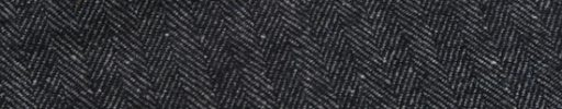 【Sj_0w56】チャコールグレー1.2cm巾ヘリンボーン+ネップ