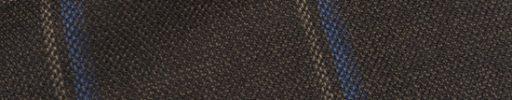 【Hs_0as06】ブラウン+6.5×5cmブルー・ライトブラウンチェック