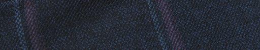 【Hs_0as07】ネイビー+6.5×5cmブルー・パープルチェック