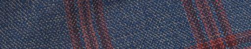 【Hs_0as17】ダークブルー+6×5cmレッドチェック
