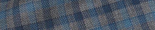 【Hs_0as33】ライトグレー・ライトブルー・ネイビー2.5×2cmガンクラブチェック