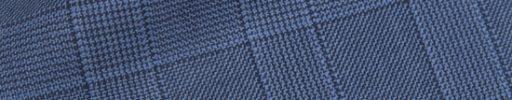 【Hs_0pc25】ライトブルー4×3cmファンシーチェック