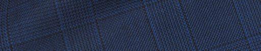 【Hs_0pc26】ロイヤルブルー4×3cmファンシーチェック