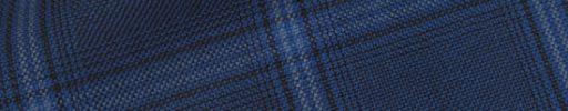 【Hs_0pc29】ロイヤルブルー+5.5×4.5cm黒・ライトブルーチェック