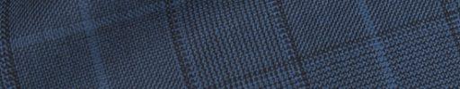 【Hs_0pc49】ダークブルーチェック+7×5.5cmシアンブルーペーン