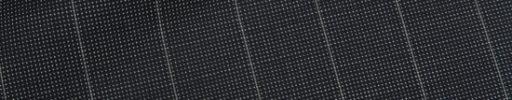 【Ca_12s068】ダークグレー白ピンチェック+1.9cm巾ストライプ