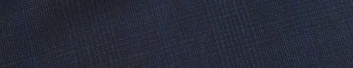 【Dov_1s21】ダークブルーグレー5.5×4.5cmグレンチェック+ブルーペーン