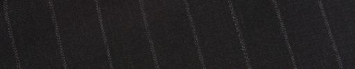 【Dov_1s25】ダークブラウン+1.5cm巾織り・白交互ストライプ