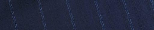 【Dov_1s31】ネイビーシャドウストライプ柄+2.1cm巾ブルーストライプ