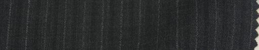 【Ks1478】ダークグレー+1cm巾グレー・黒織り交互ストライプ