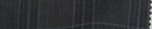 【Ks1482】チャコールグレー+5.5×4.5cmライトブルー・ダークグレーチェック