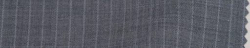 【Ks1514】ライトグレー+8ミリ巾織り交互ストライプ