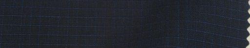 【Ks1560】ダークネイビー+5ミリブルー・グラフチェック