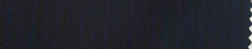【Ks1562】ダークネイビー柄4ミリ巾織りストライプ