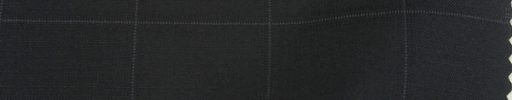 【Ks1563】黒+4×3.5cm織り・ドットウィンドウペーン