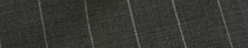 【Hs_1st03】チャコールグレー+1.7cm巾ストライプ