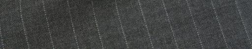 【Hs_1st07】チャコールグレー+1cm巾ストライプ