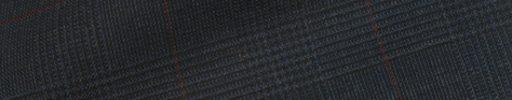 【Hs_1st17】ネイビー4.5×3.8cmグレンチェック+エンジチェック