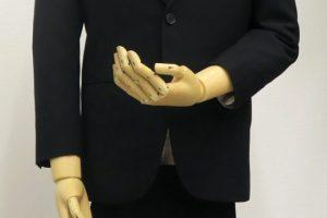 シングル2釦1掛・ピーク衿フォーマル