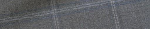 【Ca_11w018】ミディアムグレー+6.5×5cmブルー・ライトブルー・グレーチェック