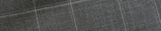 【Ca_11w020】グレー7.5×6cmグレンチェック+ベージュチェック