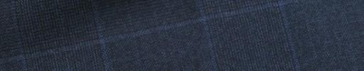 【Ca_11w021】ダークブルー7.5×6cmグレンチェック+エンジチェック