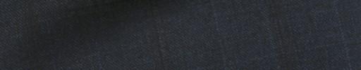 【Ca_11w031】ダークブルー6×4cm織りチェック+ブラウンチェック