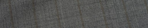 【Ca_11w035】グレーシャークスキン+1.7cm巾ブラウンストライプ