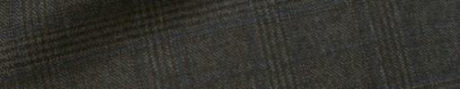 【Dov_1w24】グレーブラウン3.5×3cmグレンチェック+ブルーチェック