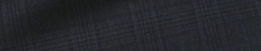 【Dov_1w25】ネイビー3.5×3cmグレンチェック+ブルーチェック