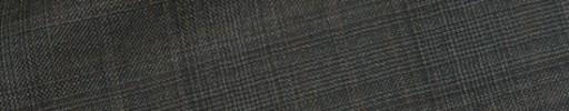 【Dov_1w26】ミディアムグレー5×5cmグレンチェック+ブラウンチェック