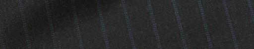 【Dov_1w28】チャコールグレー+1.2cm巾ブルードットストライプ