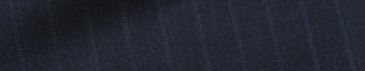 【Dov_1w29】ネイビー+1.2cm巾パープルドットストライプ