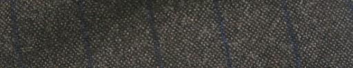 【Hk1w27】ダークブラウン+2cm巾ネイビーストライプ