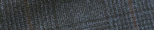 【Hk1w28】ブルーグレー・黒8×7cmグレンチェック+赤茶ペーン